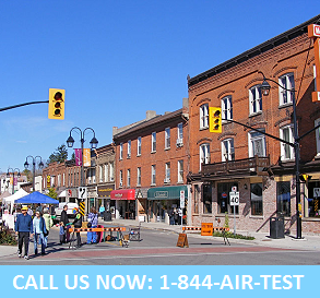 Halton air quality testing