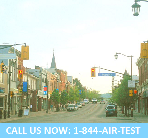 Milton air quality testing