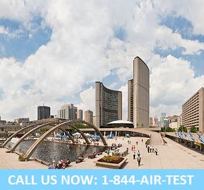 Toronto air quality testing