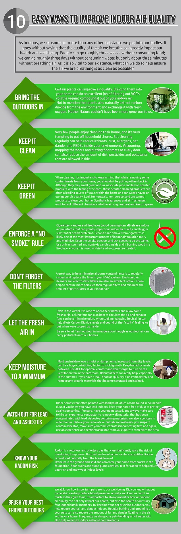 10 Easy Ways To Improve Indoor Air Quality